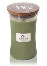 WoodWick Evergreen Hourglass Duftkerze 610 g