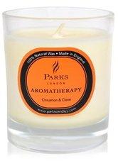 PARKS LONDON - Parks London Aromatherapy Cinnamon & Clove Duftkerze  235 g - Home