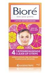 Bioré Clear-Up Strips Orange Mitesser Strips  4 Stk