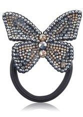 Alexandre de Paris Black Butterfly 7 cm Haargummi  1 Stk