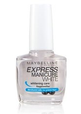 Maybelline Express Manicure White Nagelunterlack 10 ml No_Color