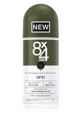 8X4 - 8x4 Men No.8 Wild Oak Deodorant Roll-On  50 ml - Deodorant