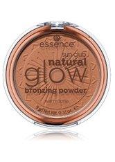 ESSENCE - essence Sun Club Natural Glow Bronzingpuder  9 g NR. 01 - WARM TONE - CONTOURING & BRONZING