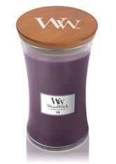WOODWICK - WoodWick Fig Large Hourglass Duftkerze  610 g - DUFTKERZEN