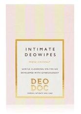 DeoDoc Intimate deowipes Fresh Coconut Intimpflegetücher 10 Stk
