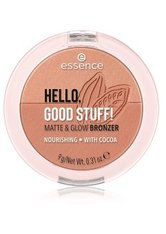 ESSENCE - essence HELLO, GOOD STUFF! MATTE & GLOW BRONZER Bronzingpuder  9 g COCOA-KISSED - CONTOURING & BRONZING