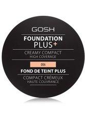 GOSH Copenhagen Foundation Plus+ Creamy Kompakt Foundation 9 g Natural
