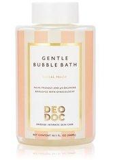 DeoDoc Gentle Bubble Bath Floral Peach Intim Duschgel 300 ml