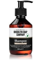 BROOKLYN SOAP COMPANY - Brooklyn Soap Aloe Vera & Menthol Haarshampoo  200 ml - SHAMPOO