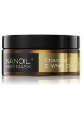 NANOIL Charcoal & White Clay  Haarmaske 300 ml