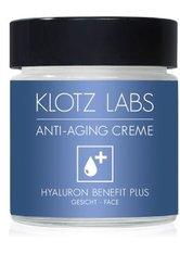 KLOTZ LABS - KLOTZ LABS Hyaluron Benefit Plus Anti-Aging Gesichtscreme  30 ml - Tagespflege