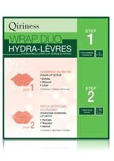 QIRINESS - QIRINESS Wrap Duo Hydra-Lèvres Hydrating 2-Step Lip Scrub & Patch Lippenpeeling   1 Stk - PEELING