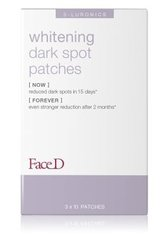 Face D 3-Luronics Whitening Dark Spot Patches Gesichtsmaske 30 Stk