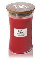 WoodWick Pomegranate Large Hourglass Duftkerze  610 g