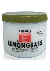 VILLAGE - Village Pflege Vitamin E Body Cream Lemongras 500 ml - KÖRPERCREME & ÖLE