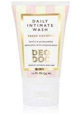 DeoDoc Daily intimate wash travel size - Fresh Coconut Intim Duschgel 35 ml