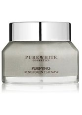 PURE WHITE COSMETICS - Pure White Cosmetics Purifying French Green Gesichtsmaske  50 ml - CREMEMASKEN