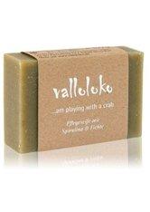 VALLOLOKO - Valloloko ...Am Playing With A Crab Spirulina & Fichte Stückseife  100 g - SEIFE