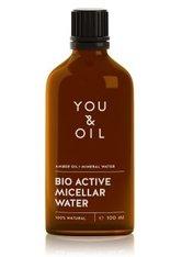 YOU & OIL Nourish & Brighten Amber Oil+Mineral Water Augenmake-up Entferner 100 ml