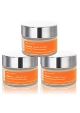 dr. Eve_Ryouth Vitamin C + Hyaluronic Acid Hydrabright Tagescreme  3x50 ml
