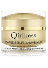 QIRINESS - QIRINESS Caresse Temps Sublime Nuit Ultimate Anti-Age Revitalising Night Cream Nachtcreme  50 ml - NACHTPFLEGE