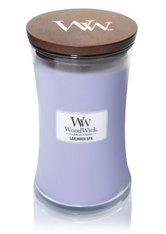 WoodWick Lavender Spa Hourglass Duftkerze 610 g