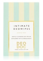 DeoDoc Intimate deowipes Jasmine Pear Intimpflegetücher 10 Stk