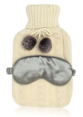 Zoë Ayla Beauty Tools Water Bag, Fabric Cover and Satin Eye Mask Körperpflegeset 1 Stk