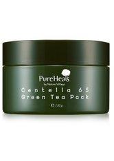 PUREHEAL'S - PureHeal´s Centella 65 Green Tea Pack Gesichtsmaske 130 ml - CREMEMASKEN