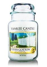 YANKEE CANDLE - Yankee Candle Housewarmer Clean Cotton Duftkerze 0,411 kg - DUFTKERZEN