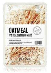 DERMAL It's Real Superfood Oatmeal Tuchmaske 1 Stk