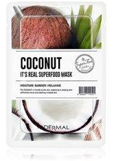 DERMAL It's Real Superfood Coconut Tuchmaske  1 Stk