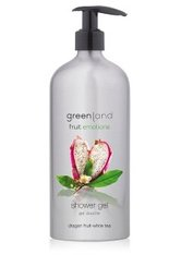 GREENLAND - Greenland Fruit Emotions Dragon Fruit-White Tea Duschgel 600 ml - DUSCHEN & BADEN