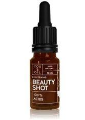 YOU & OIL Beauty Shots 100 % Acids Gesichtsöl  10 ml