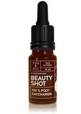YOU & OIL Beauty Shots 100 % Polysaccharids Gesichtsöl  10 ml