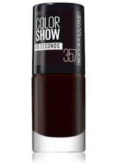 Maybelline Color Show  Nagellack 6.7 ml Nr. 357 - Burgundy Kiss