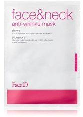 FACE D - Face D 3-Luronics Anti-Wrinkle Face & Neck Mask Tuchmaske  1 Stk - TUCHMASKEN