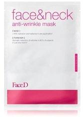 Face D 3-Luronics Anti-Wrinkle Face & Neck Mask Tuchmaske  1 Stk
