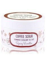 BadeFee Coffee Scrub Spicy Vanilla Körperpeeling 180 g