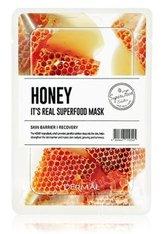 DERMAL It's Real Superfood Honey Tuchmaske  1 Stk
