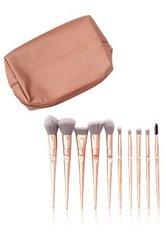 Zoë Ayla Makeup Brush Set and Bag 10 Pices Pinselset 1 Stk
