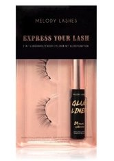 MELODY LASHES Glue Liner & Ginny Lashes Express your Lash Wimpernpflegeset  1 Stk NO_COLOR