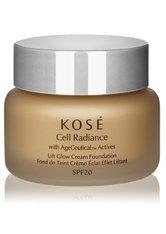 Kosé Cell Radiance Age Ceutical Actives Creme Foundation  30 ml Deep Beige