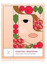 YOU & OIL Face Masks Hydration+Brightening With Liposomes Tuchmaske 1 Stk