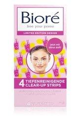 Bioré Clear-Up Strips Pink Mitesser Strips  4 Stk