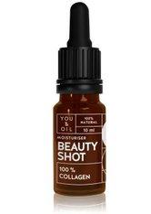 YOU & OIL Beauty Shots 100 % Collagen Gesichtsöl  10 ml