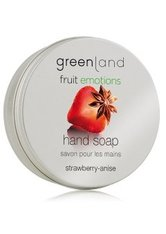 GREENLAND - Greenland Fruit Emotions Strawberry-Anise Stückseife  100 g - Seife