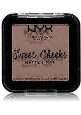 NYX Professional Makeup Sweet Cheeks Matte Rouge 5 g Nr. 09 - So Taupe