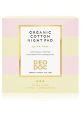 DeoDoc Organic cotton Night pad Tampon 10 Stk