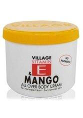 Village Pflege Vitamin E Body Cream Mango 500 ml
